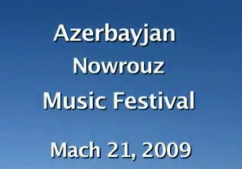 Azerbayjan Music Festival, March 2009